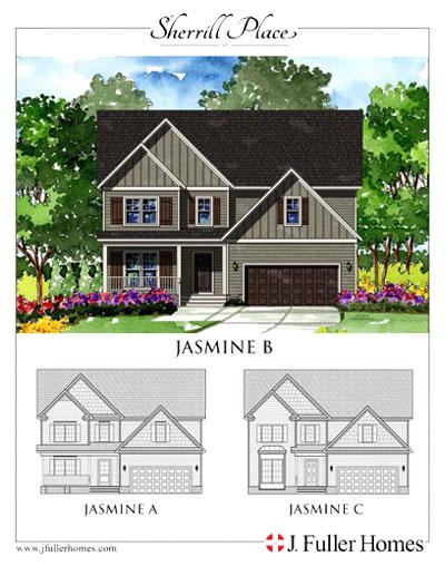 Jasmine Floorplan - Sherrill Place | Garner NC