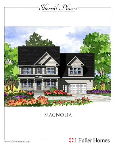 Magnolia Floorplan - Sherrill Place | Garner NC