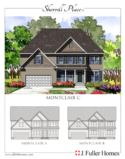 Montclair Floorplan - Sherrill Place | Garner NC